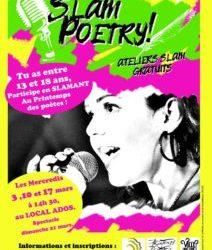 SLAM POETRY! Fêtons le printemps des poètes !