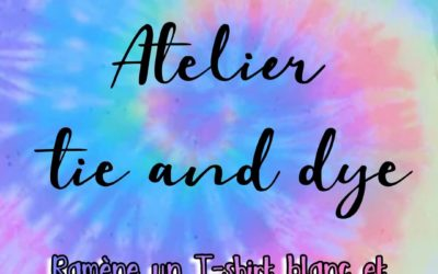 Local ados : Atelier Tie and Dye